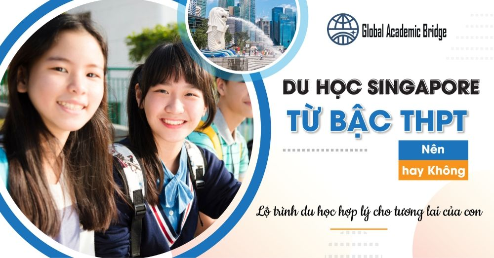 điều kiện du học THPT singapore nhỏ