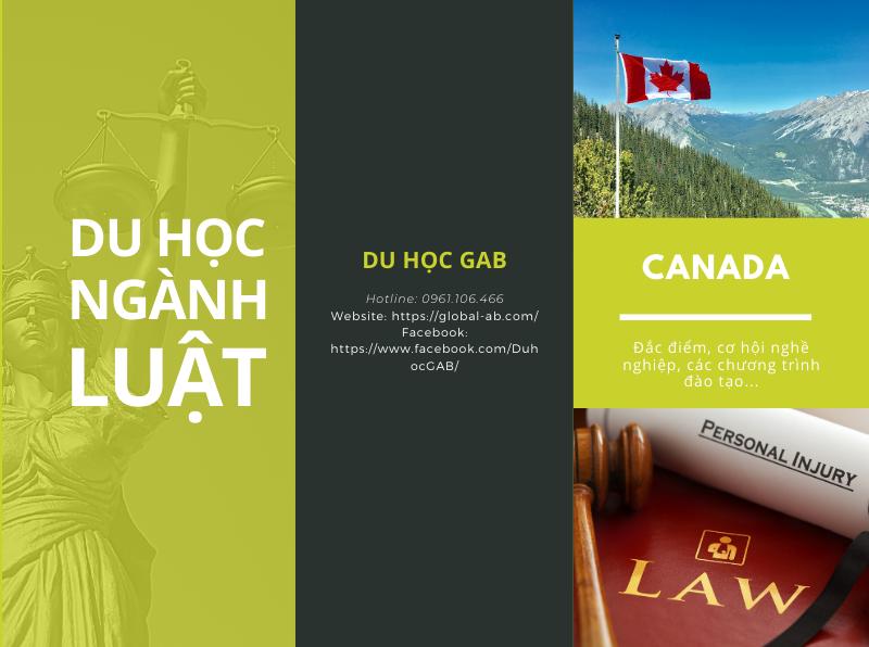 Ngành luật canada